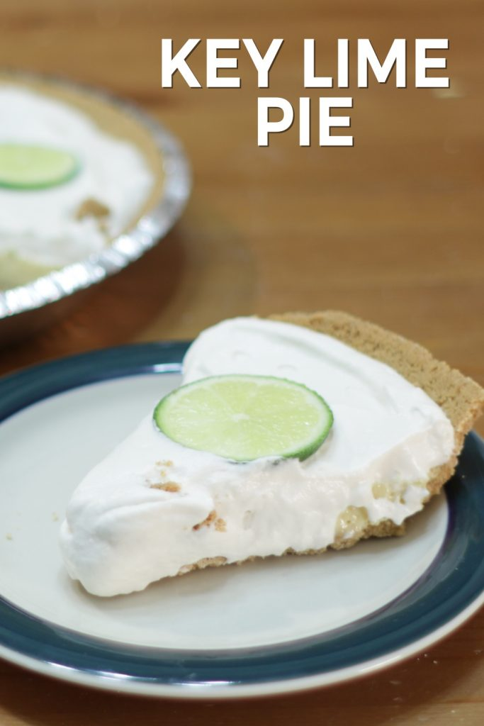 Key lime pie pin for Pinterest