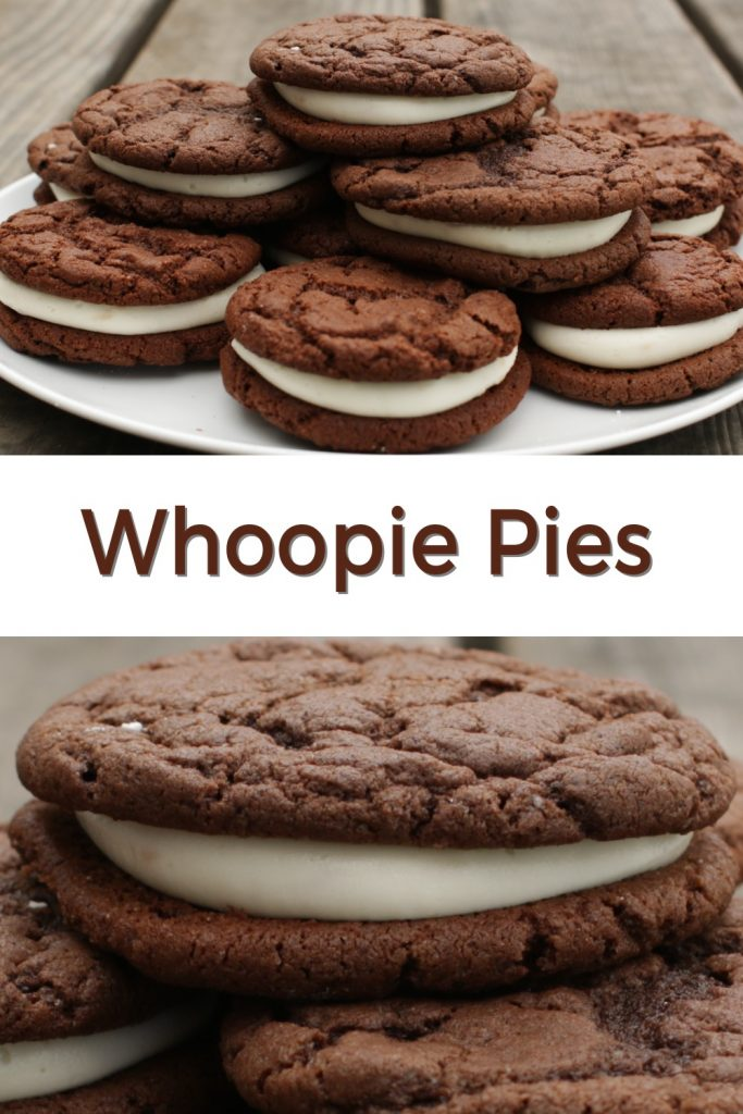 Whoopie Pies pin for Pinterest