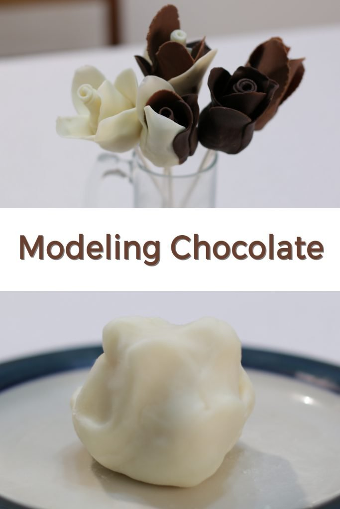 Modeling chocolate pin for Pinterest