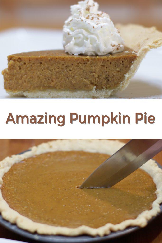 Amazing pumpkin pie pin for Pinterest
