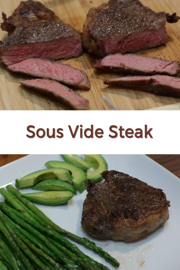 Sous vide steak pin for Pinterest
