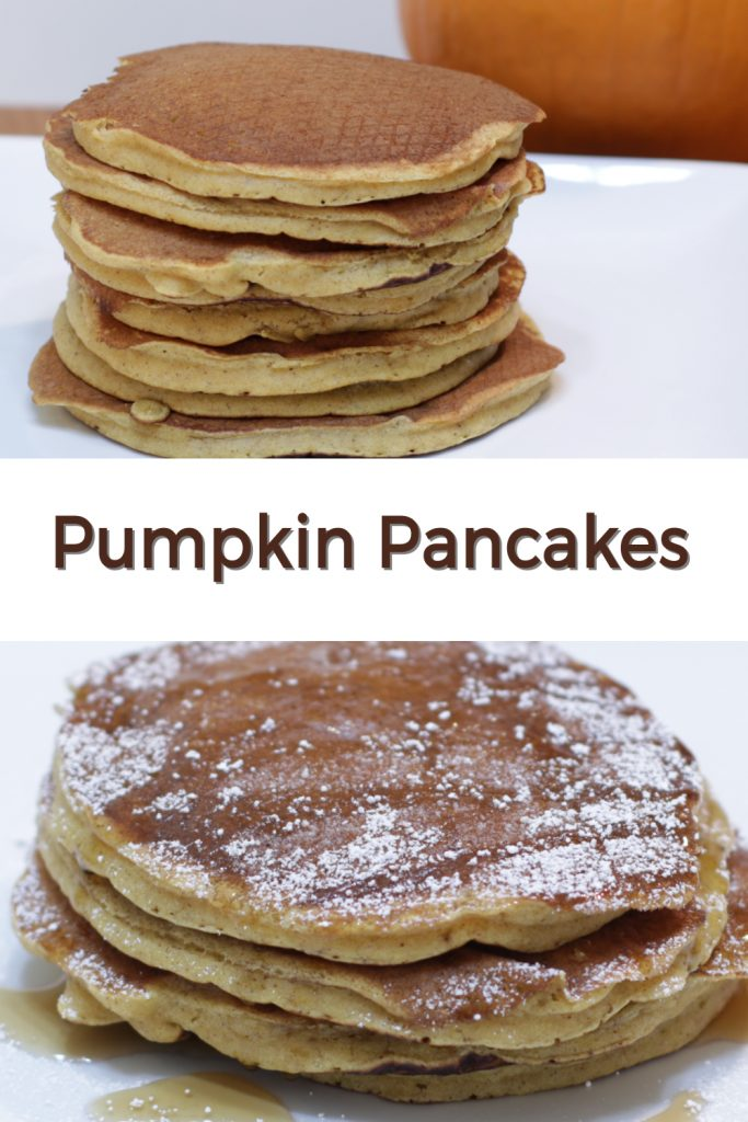 Pumpkin Pancakes pin for Pinterest