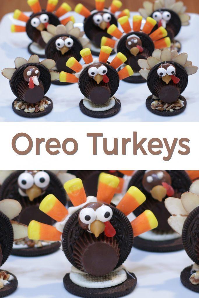Oreo Turkeys pin for Pinterest