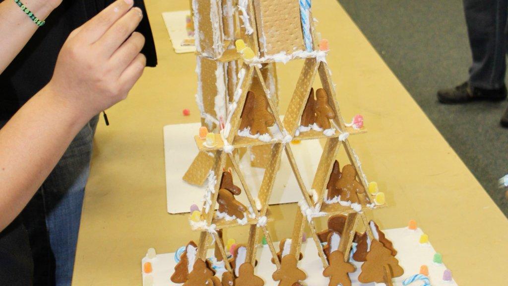 Graham cracker house towers